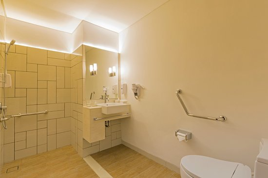 wheelchair express stack chairs for less accessible bathroom at holiday inn jakarta pluit citygate