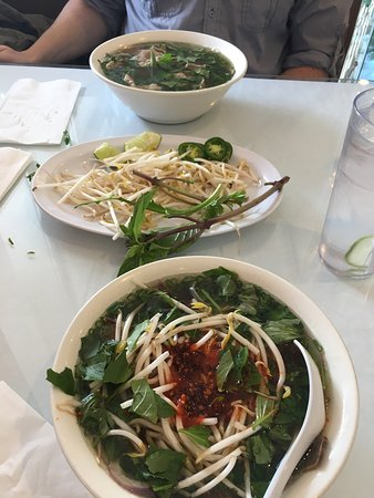 delicious pho and beef