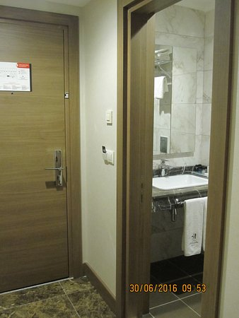 Room Entrance And Bathroom Picture Of Inside Hotel Sisli