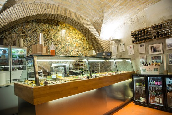 Beautiful food  Review of Cucina del teatro Rome Italy