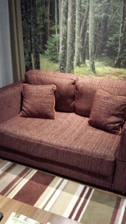 the living room center shelf sofa in picture of parcs sherwood forest