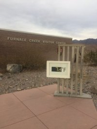 Display - Picture of Furnace Creek Visitor Center, Death ...