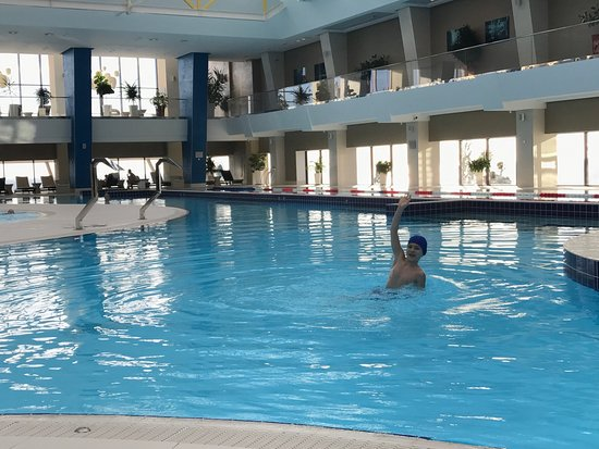 Big Pool And The Spa Are Really Great Picture Of Lazurnaya Hotel Spa Sochi Tripadvisor