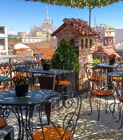 terrazza  Picture of Ristorante Santa Marta Milan  TripAdvisor