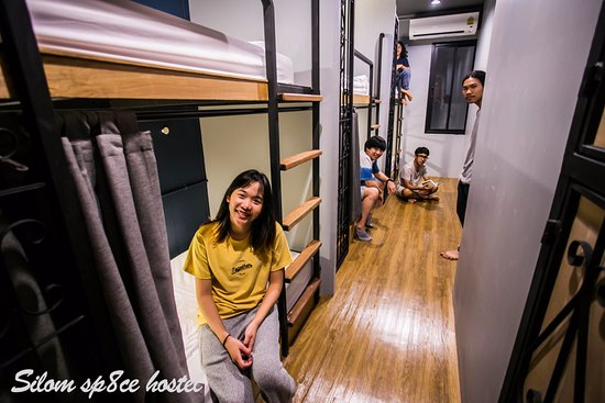 bunk bed with curtain for privacy and