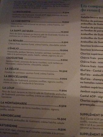 Le Renard Et La Galette : renard, galette, Tarif, Picture, Creperie, Loup,, Renard, Galette,, Nantes, Tripadvisor