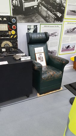 big mans chair painting fabric seats picture of avro heritage museum stockport