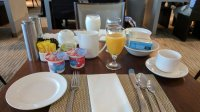 Breakfast Table Setting at Armoi Restaurant. - Picture of ...