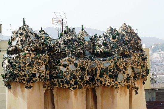 Uno dei cancelli  Foto di La Pedrera  Casa Mila