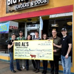 Al S Chairs And Tables Folding Web Chair From Wool Hat Furniture Picture Of Big Burgers Dogs All Tips Go To Local Charities
