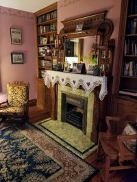 Fireplace. - Picture of Trimmer House Bed and Breakfast ...