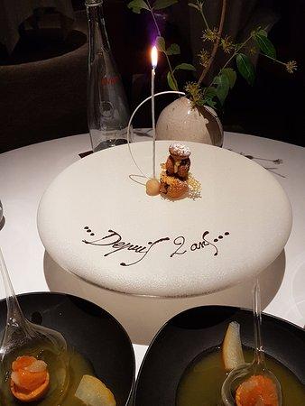 Le Clos Des Sens Annecy : annecy, Dessert, Picture, Restaurant, Sens,, Annecy-le-Vieux, Tripadvisor