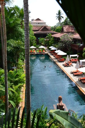 Belmond La Residence Dangkor Pool Im Garten