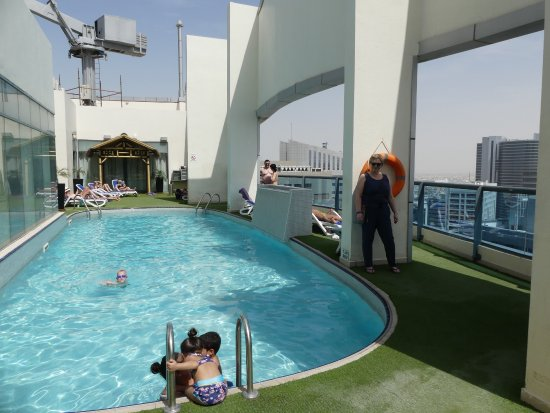 pool on the roof floor 31  Picture of First Central