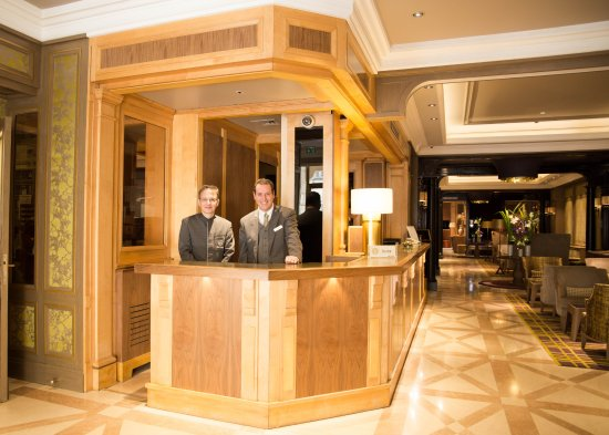 Concierge Desk  Picture of Rochester ChampsElysees Hotel