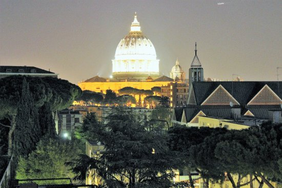 Aussicht Von Der Terrasse Photo De Il Cantico Rome TripAdvisor