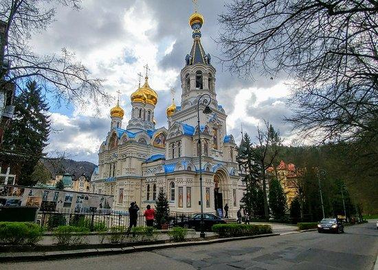 Hermosa iglesia ortodoxa - Opiniones de viajeros sobre Pravoslavny ...