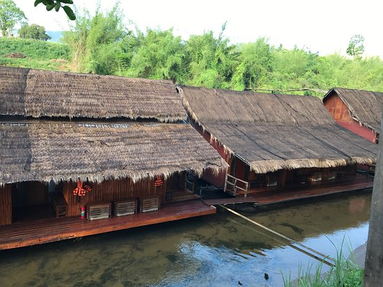 Boutique Raft Resort River Kwai Review Of Boutique Raft