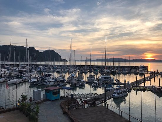 Sunset View From Seaview Room Picture Of Langkawi Yacht