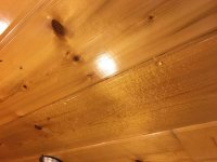water leaking from ceiling - Picture of Cabins of the ...