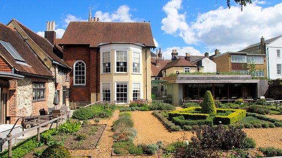 tudor house garden - of