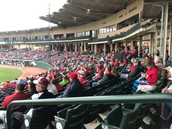 Picture Of Baum Stadium, Fayetteville