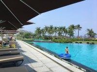 long lap pool - Picture of Angsana Lang Co, Phu Loc ...