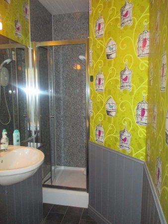 Carta da parati per doccia. Bagno Con Carta Da Parati Picture Of Spire House Salisbury Tripadvisor