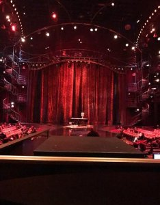 Zumanity cirque du soleil great views of the stage from all seats also picture rh tripadvisor