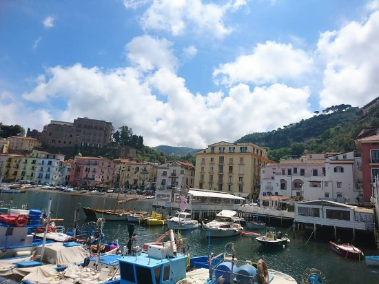 The picturesque Marina Grande  Picture of Ristorante Bagni Delfino Sorrento  TripAdvisor