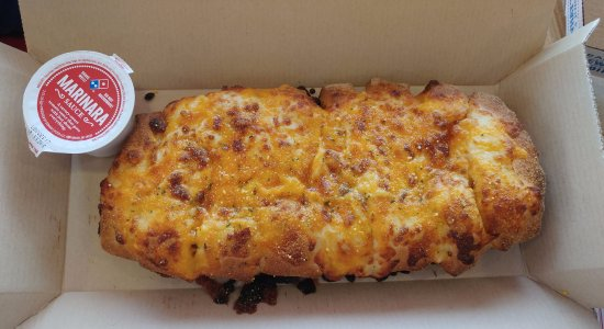 Stuffed Cheesy Bread Picture Of Dominos Pizza Grand Junction