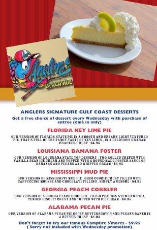 Angler39s Beachside Grill Fort Walton Beach Menu Prices