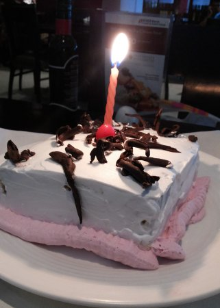 Complimentary Bday Cake Picture Of Mainland China Pune Tripadvisor
