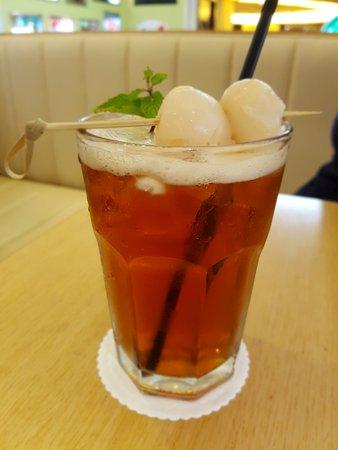 Ice Lychee Tea : lychee, Lychee, Picture, Bakerzin, Plaza, Indonesia,, Jakarta, Tripadvisor
