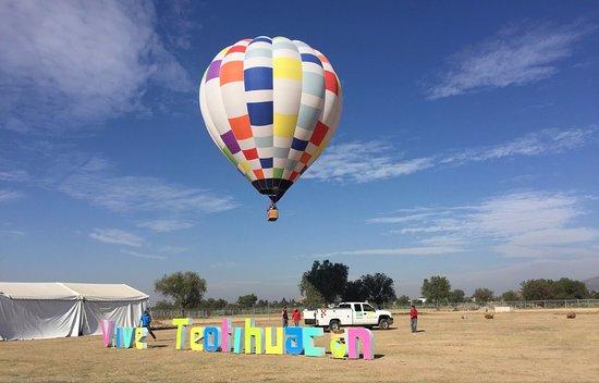 sky balloons mexico san