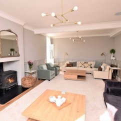Living Room With Log Burner Window Curtains The And Sky Tv Picture Of Nanplough Country House Cottages