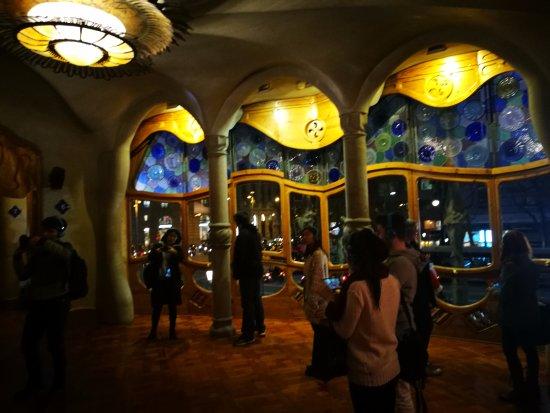 Interno di casa Battl  Picture of Casa Batllo Barcelona  TripAdvisor
