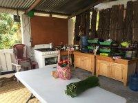 Anita's lovely kitchen! - Picture of Mayan Kitchen, San ...