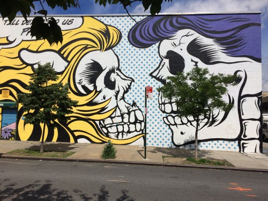 The closest subway stations are the 23rd street station on the 6 and the r/w lines Murales A Bushwick Brooklyn Ny Picture Of Brooklyn New York Tripadvisor