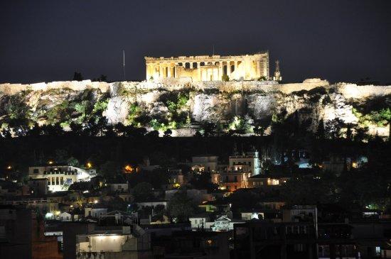 Blick Von Der Terrasse Im 7 OG Photo De Evripides Hotel Athènes