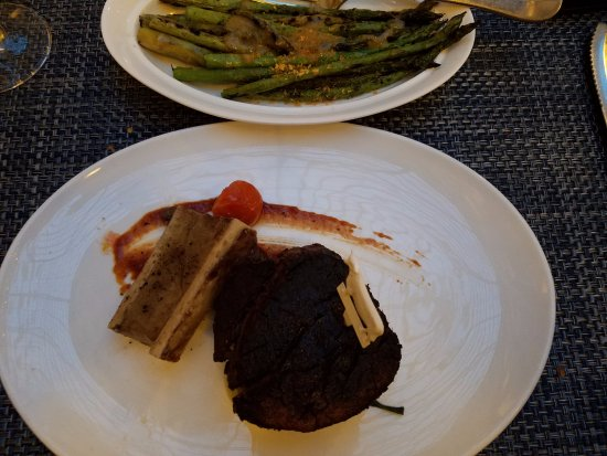 Filet Mignon & Roasted Asparagus  Picture Of Blt Prime By