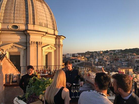 Bar  Foto di Terrazza Borromini Roma  TripAdvisor