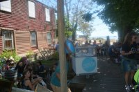 Patio seating area - Picture of Canteen, Provincetown ...
