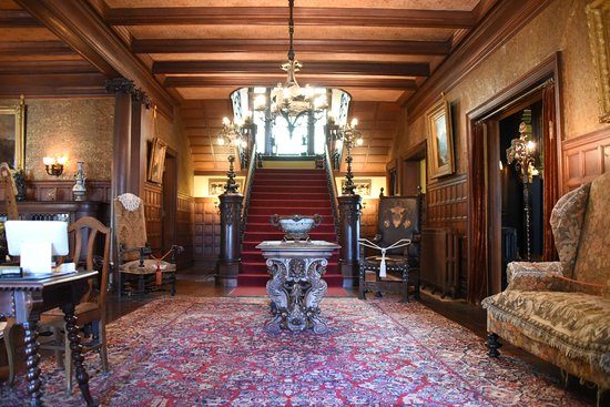 mansion foyer grand staircase