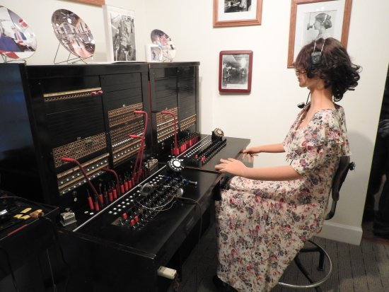 the switchboard operator who