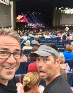 Walnut creek amphitheatre amateur travel writer mark  fisher enjoys family musical memories also view from section row  seat at picture of rh tripadvisor