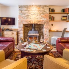 Living Room With Log Burner Cheap Accent Tables For Swan Cottage Picture Of Old Minster Mill