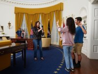Explore President Nixon's Oval Office - Picture of Richard ...