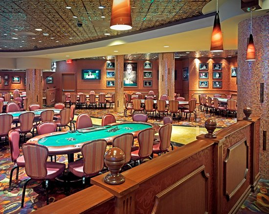 Poker Room  Picture of Harrahs Resort Atlantic City