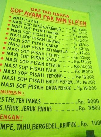 Sop Ayam Klaten : klaten, Harganya, Sangat, Bersahabat, Picture, Klaten,, Yogyakarta, Tripadvisor